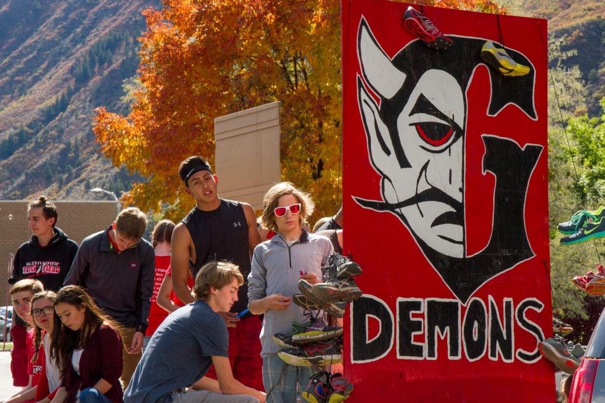 Glenwood Springs High School celebrated homecoming Friday afternoon with a parade down Pitkin Avenue from the high school to Glenwood Springs Elementary School. Nicholas Isgrig and Kelly Tran were awarded the 2016 homecoming king and queen during Friday night's game at Stubler Memorial Stadium.