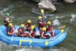 "Cast members of ""Ben & Lauren: Happily Ever After?"" raft Glenwood Canyon in August for an episode airing Tuesday."