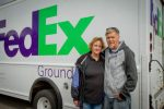 Keith and Rachel Gill owned a FedEx Ground route contract but are currently unemployed after being unable to meet the company's new requirement for contractors.
