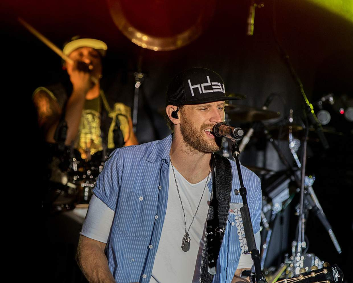 Chase Rice performs at Oktoberfest in Parachute.