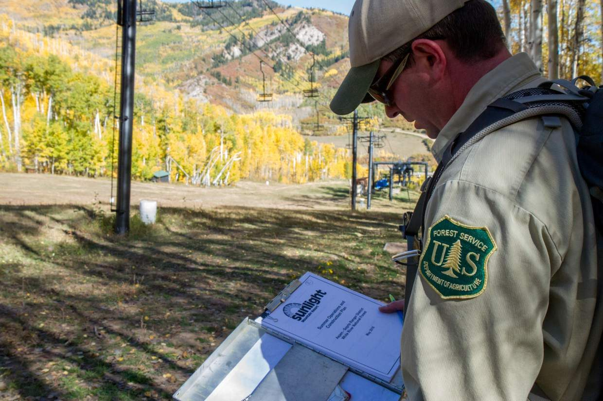 Monte Lutterman is a mountain sports ranger for the Aspen-Sopris Ranger District. Part of his job is to review operations and construction activities that take place on national forest system lands.