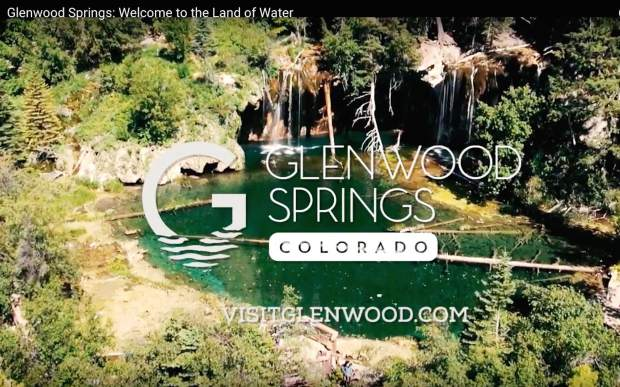 An outtake from one of Glenwood Springs Tourism's latest promotional videos, titled