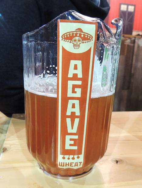 As a featured brewery, Breckenridge Brewery poured a wide selection of brews at the GABF, including the popular Agave Wheat.