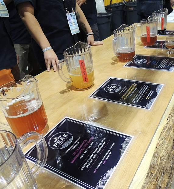 Steamboat Springs' Storm Peak Brewing Co. served up five beers at the GABF.