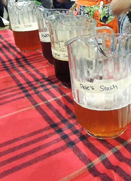 Pete's Stash was one of five brews being poured by Vail Brewing Company at the Great American Beer Festival.