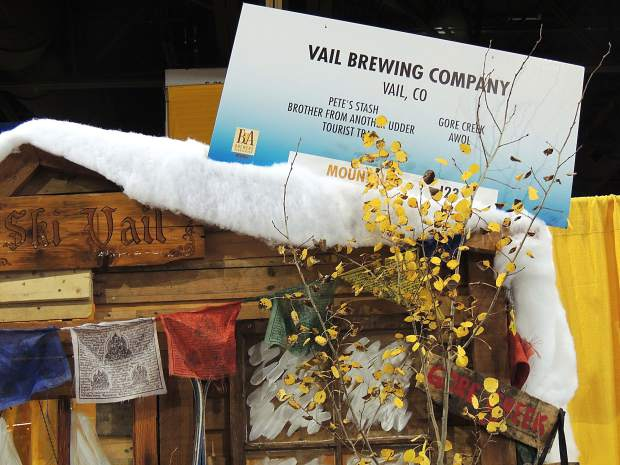 Vail Brewing Company represented at the Great American Beer Festival as one of two brewers from the Vail Valley.