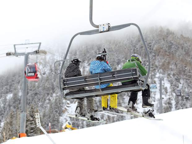 The Little Nell lift started running Sunday at Aspen Mountain.