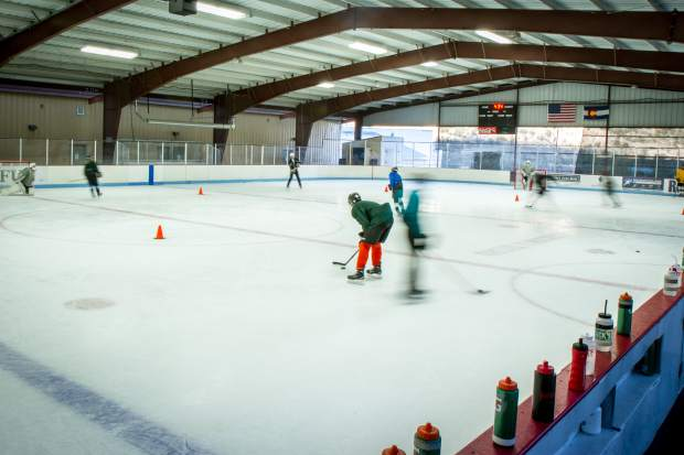 The ice rink at the Glenwood Springs Community Center is officially open to the public. Numerous local hockey teams use the space for practice, but the rink also has designated public skating times. For more information on the rink schedule and rates and fees go to glenwoodrec.com.