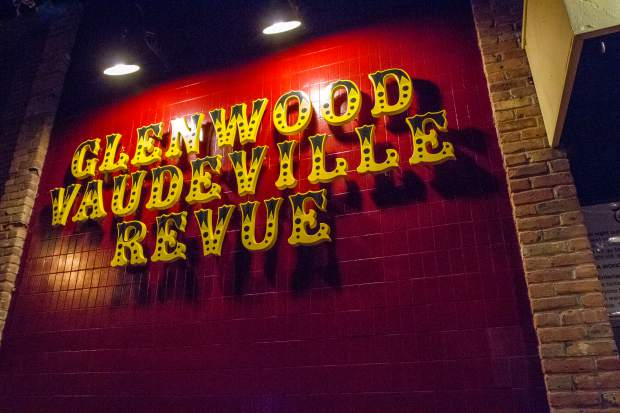 The Glenwood Vaudeville Revue is located at 915 Grand Avenue in downtown Glenwood Springs.