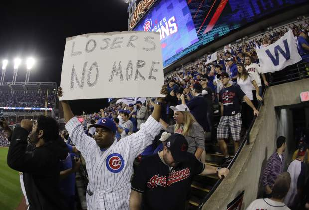 Cubs' World Series drought comes to an end