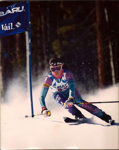 Two-time Olympian Edie Thys Morgan (3 ACL reconstructions, assorted broken limbs) had the original idea for Grateful Steadys. It quickly grew to an international event.