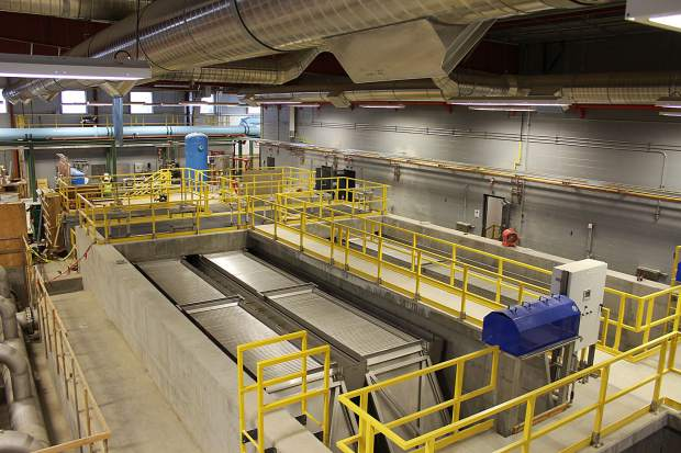 The new Rifle Regional Water Purification Facility is estimated to cost around $30.5 million, a decrease of more than $10 million since initial bids were submitted in May 2014.