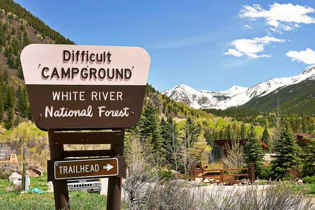Difficult Campground east of Aspen is one of the most popular in the area, and its future is secure. However, the Forest Service is assessing the future of all its recreation facilities.