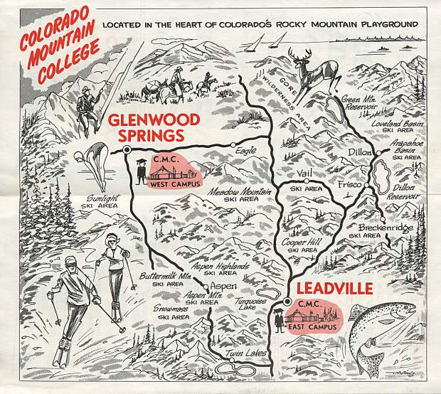 This map is from a 1967 CMC brochure.