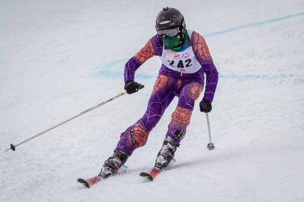 Knoll Featherstone with Challenge Aspen makes it through the slalom course during the 2017 Western and Southeast Regional Special Olympic Winter Games at Sunlight Mountain on Friday. Roughly 200 athletes are competing this weekend and have traveled to Glenwood Springs from all over the state. The games continue Saturday at the Argonaut farm with the snowshoe and cross-country skiing competitions.