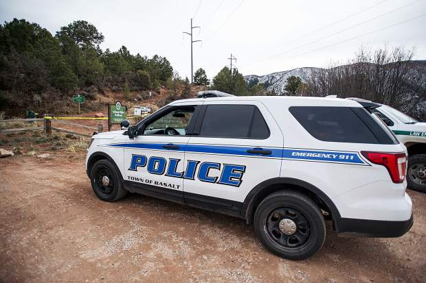 The Arbaney Kittle Trailhead became a focal point of the search for the two suspects Tuesday afternoon. A K-9 unit and drone were among the tools police used to try to capture the suspects.