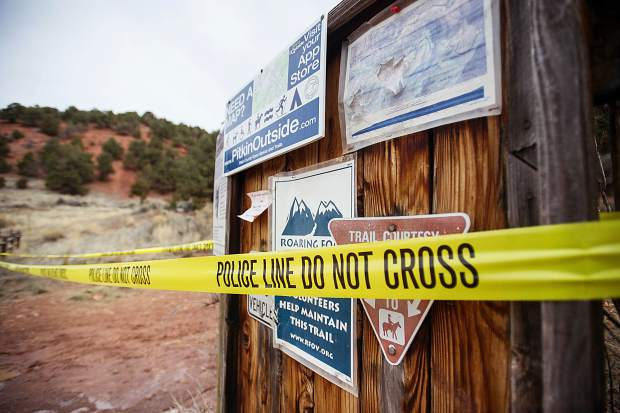 Law enforcement officers chased the suspects up a hillside between the Basalt Cemetery and Arbaney Kittle Trailhead. The suspects eluded capture and crossed the popular trail while it was still in use by the public.