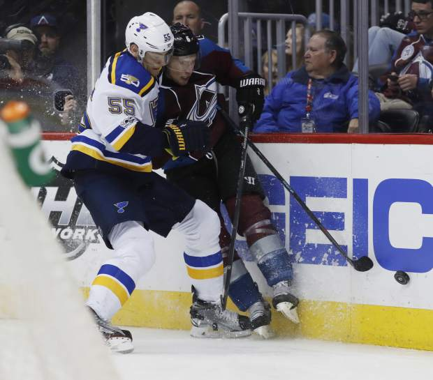 Blues' Stastny Listed Week to Week With Lower-Body Injury