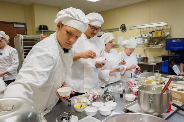 CMC culinary arts students meet at the Grand River Health cafe twice a week to learn the trade of culinary arts. Their skills will be on display during the March 8 Empty Bowls event.