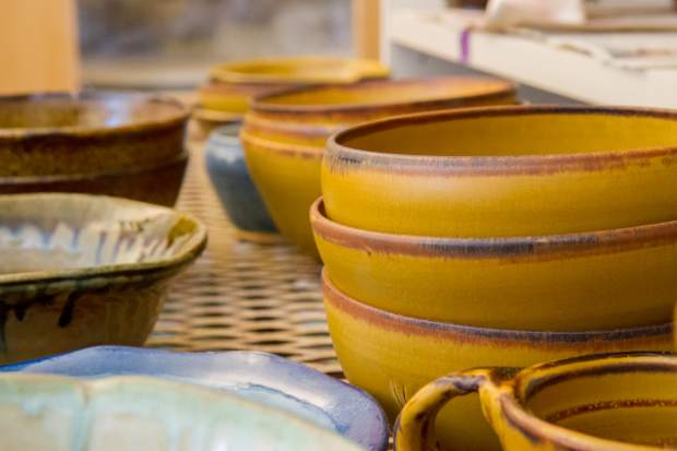 The CMC Rifle ceramics students have worked hard for months to make 400 bowls for the Empty Bowl event at Grand River Health in Rifle.