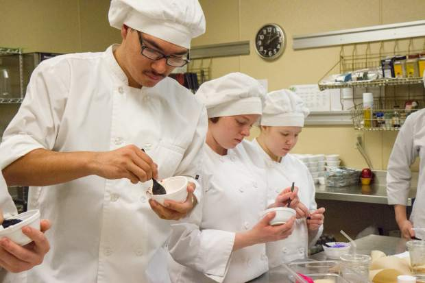 CMC culinary arts students meet at the Grand River Health cafe twice a week to learn the trade of culinary arts.