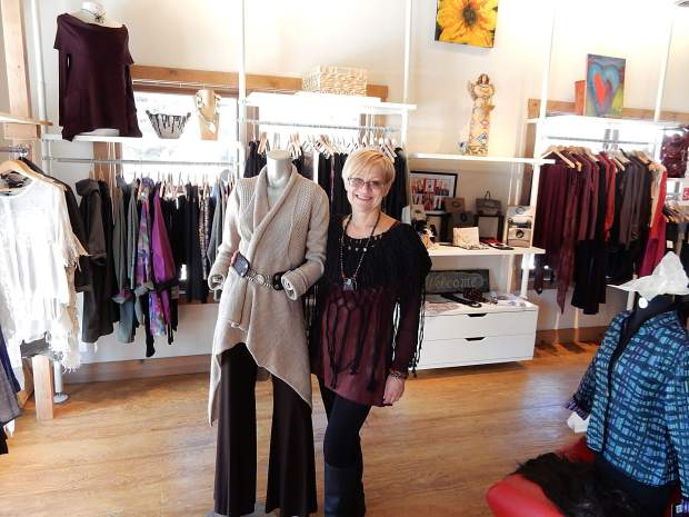 Monika Oginski left Aspen to open her Faboo clothing shop in downtown Basalt three years ago. She said she loves the town but needs more support from local residents.