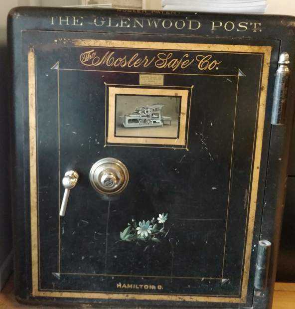 This Mosler safe has moved from office to office with the Glenwood Post and Post Independent. It was thought to be sealed for good until locksmith Wayne Winton opened it earlier in April.