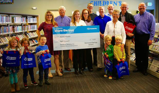 Glenwood Springs Subaru >> Subaru gives $8,000 to Raising a Reader | PostIndependent.com