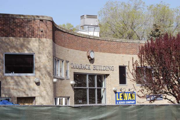 The Tamarack Building at 1001 Grand Ave. in Glenwood Springs, as it has appeared since at least the early 1990s, is getting a facelift.