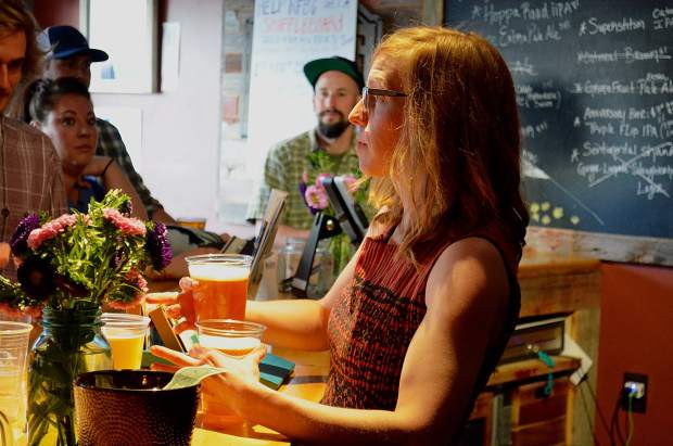 It might have been the last day for the Roaring Fork Beer Company at its Dolores Way tasting room, but plenty of customers ensured it didn't go out with a whimper.