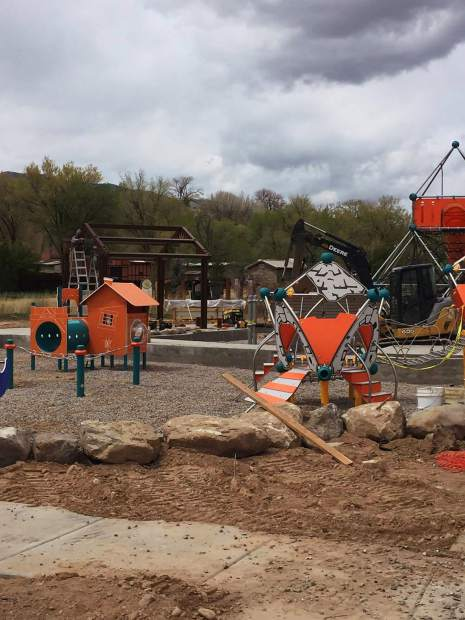 A passion project of Aspen resident Linda McCausland the playground is budgeted to cost $375,000, $31,000 of which came from McCausland herself.