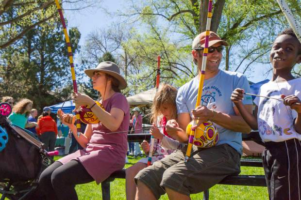 Scenes from the 2017 Carbondale Dandelion Day Celebration.