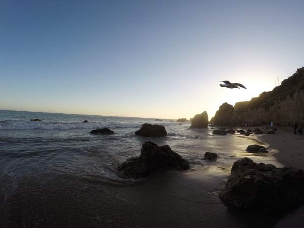 El Matador State Beach sunset.