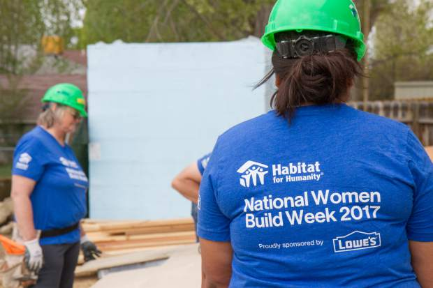 May 6 through May 14 is National Women Build week which works to bring women together to devote at least one day to building decent and affordable housing in their local communities.
