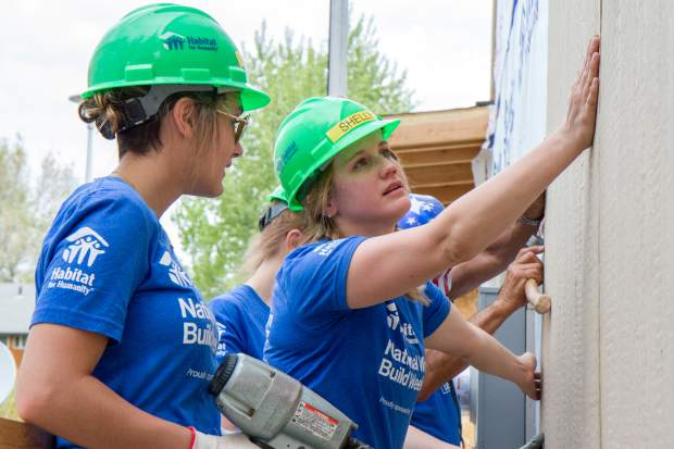 This week's Selfies features the women volunteers participating in National Women Build week. For more photos and information on how you can volunteer go to page A9.