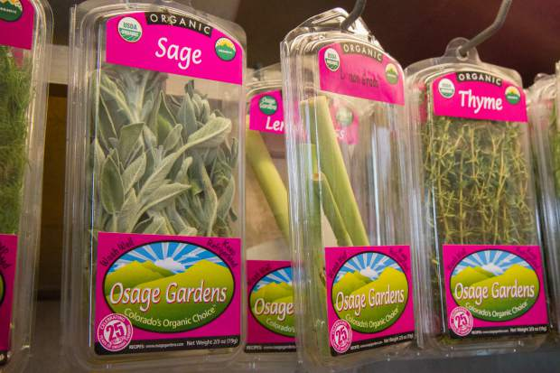The Osage Gardens has a farm store that is open every day except Mondays.