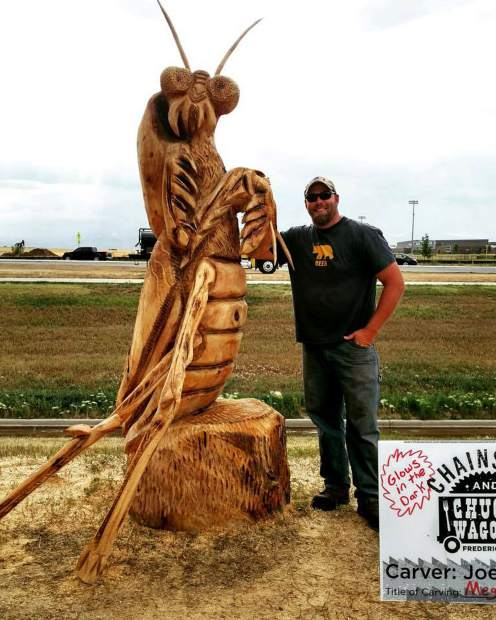 Chainsaw woodcarving event coming to rifle this weekend
