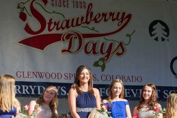 Scenes from the 2017 Miss Strawberry Days coronation.