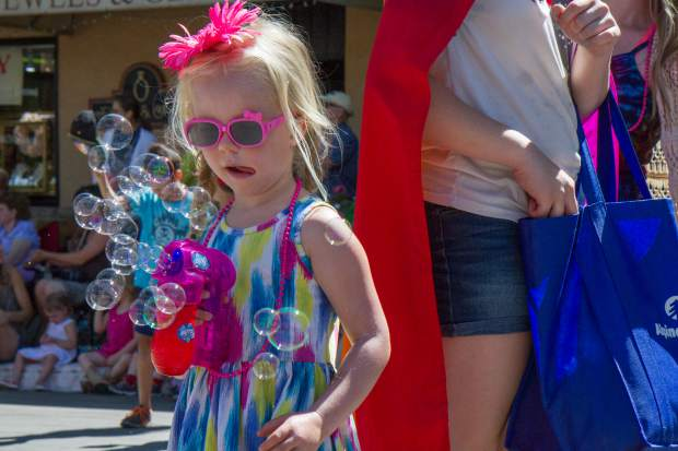 Scenes from the 2017 Strawberry Days parade on Saturday morning.