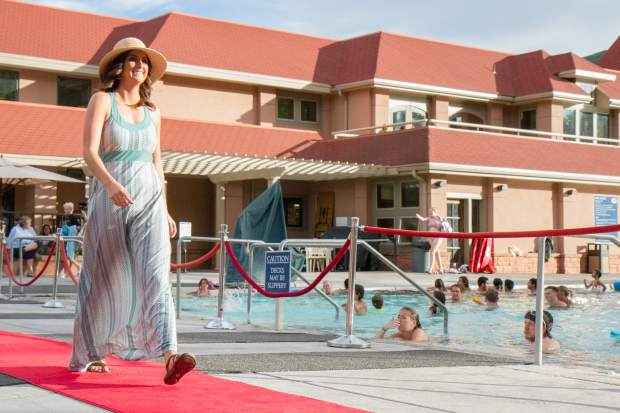Scenes from the 2017 Miss Strawberry Days Fashion Show at the Glenwood Hot Springs Pool on Thursday evening.