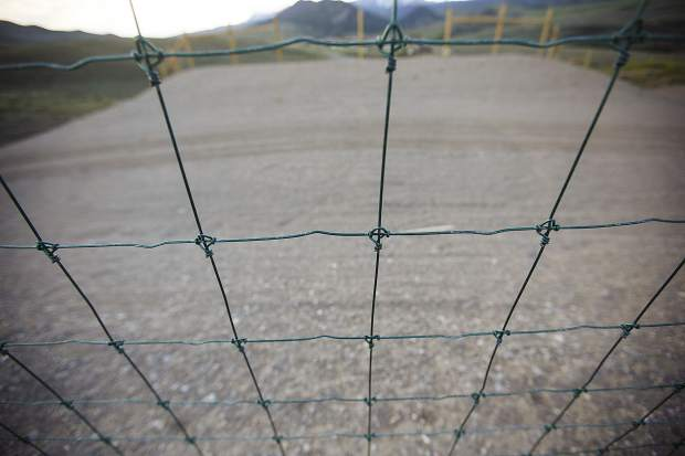 Netting and fencing, also included in the wildlife crossing project along State Highway 9, is a tool to aid in preventing vehicle collisions. The device by itself, however, without use of overpasses and underpasses, prevents free movement of animals according to natural migration patterns.