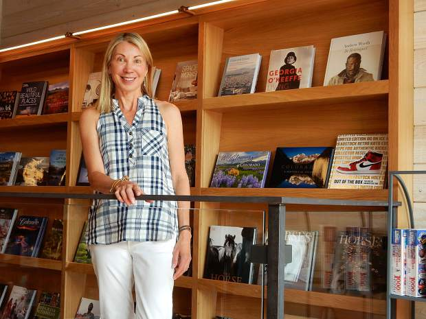 Catherine Maas pursued her dream of opening a bookstore. 'I think of books as part of a well-rounded life,' she said.