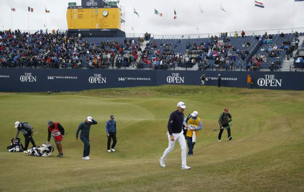 Stenson and Spieth paired for British Open
