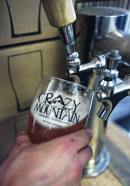 Crazy Mountain's beers are available in cans, bottles and on draft in 27 states and 11 countries.