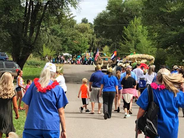 The HeyDays parade drew hundreds of people to downtown Silt on Saturday, leading those who watched to Stoney Ridge Park for a day of fun.
