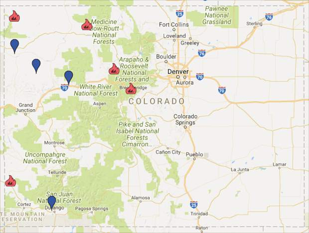 Wildfires Currently Consuming More Than 33 000 Acres Across Colorado
