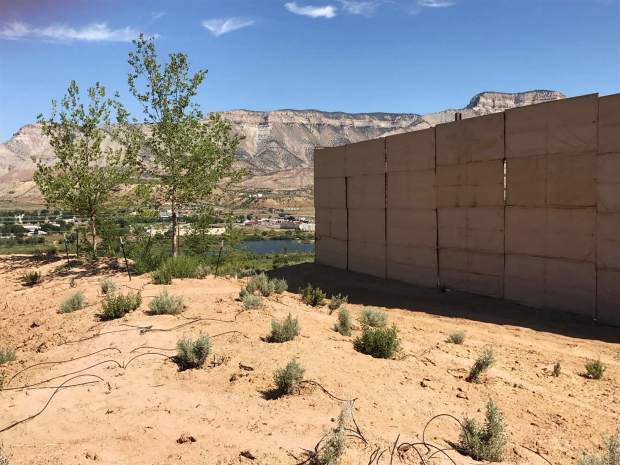 Ursa's hope is that the landscaping and sound wall help to lessen the impact the well pad has on nearby homes.