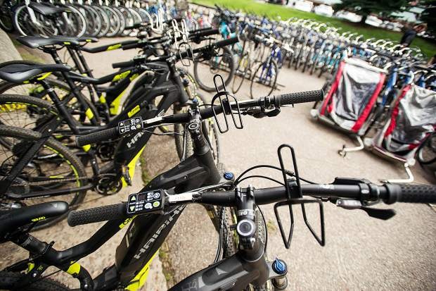 Aspen Velo has about 25 e-bikes in its rental fleet and a similar number for sale.