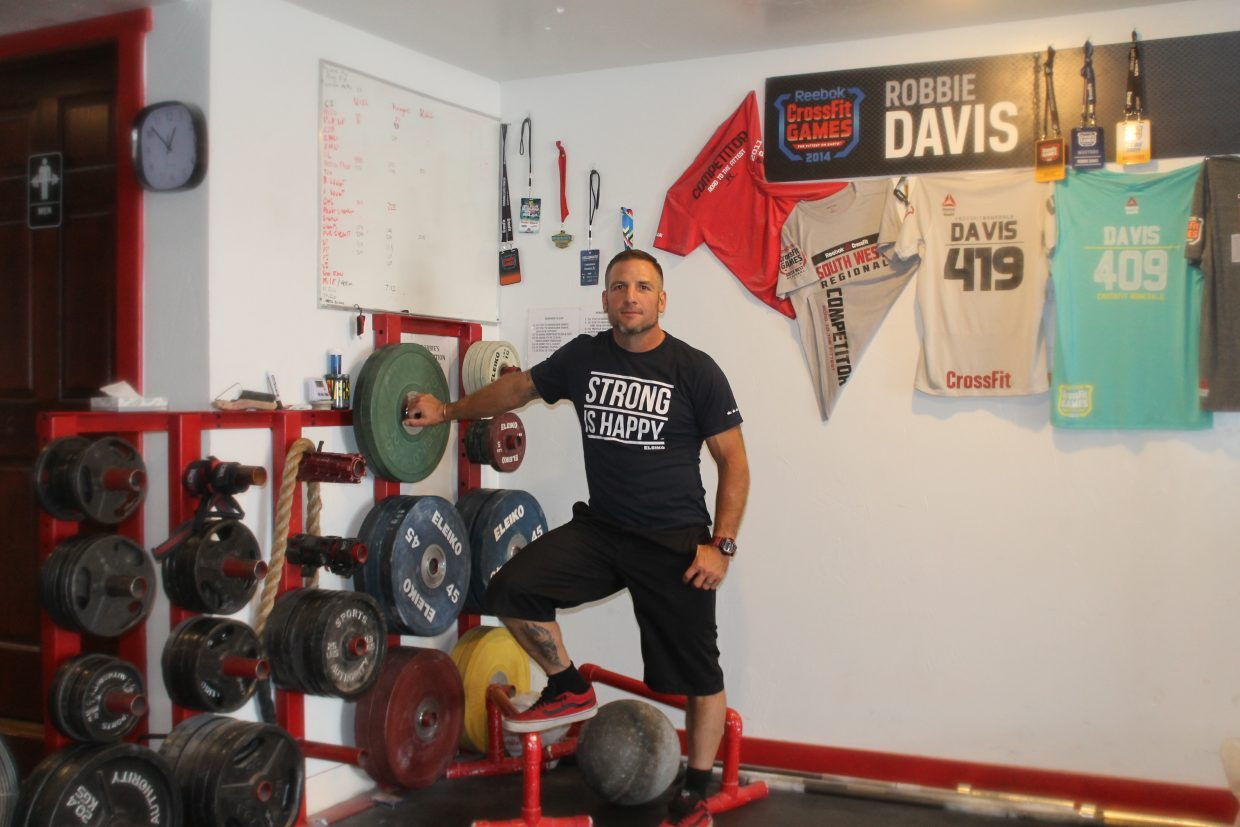 Robbie Davis stands by his competition weights.