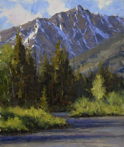 Nearby: Dan Young: Valleys to Peaks Through Sept. 3 Roaring Fork Valley resident Dan Young exhibits plein air paintings of Colorado outdoors. Pictured: